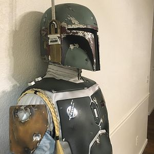 "Fettastic Empire Strikes Back Boba Fett ""Hero"" Armor Mannequin"