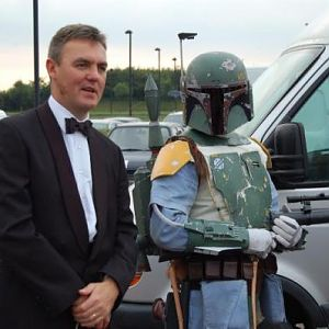 Me at a troop inmy esb costume
