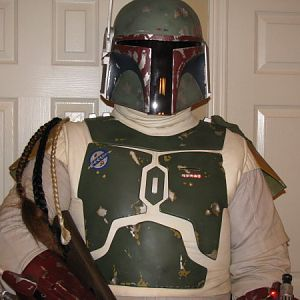 Complete Fett Costume A070