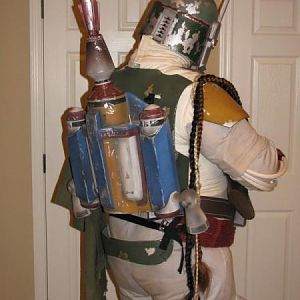 Complete Fett Costume A082