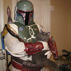 Complete Fett Costume A097