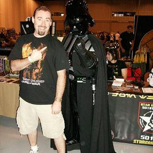 Gregory with Vader