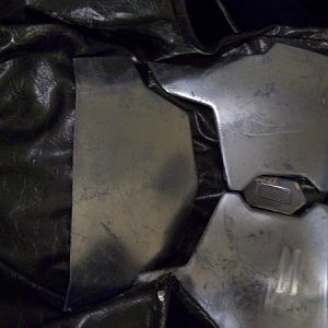 additional pic of chest armor showing stratches and chips