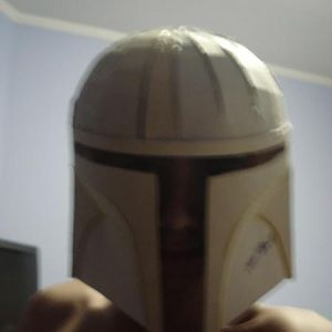 testing the helmet, i know, not so perfect...
