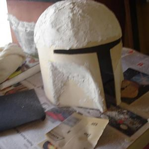 Gesso very wet, so hard to make this soft you know.. too much gesso!..AiohAoiAHoih...