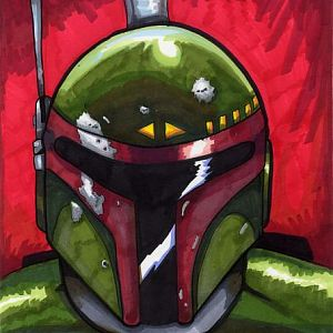 boba fett did this for art anderw's b-day gift.