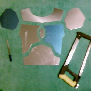 2mm Aluminum Plates with Tools