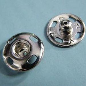 15mm Sew on Snap Fastener