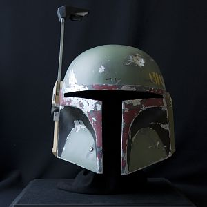 TRPN helmet (front view) Painted by me