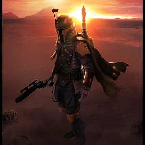 Boba Fett Sunset (1)