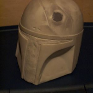 First helmet purchased from Sgt. Fang