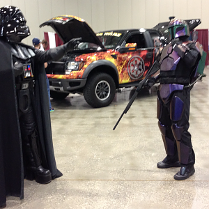 Armor 1 vs Vader2