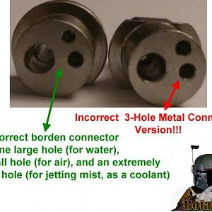 3 Hole Metal Borden Connector