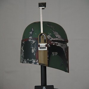 Master Replicas Boba Fett helmet Range finder right side