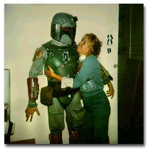 Boba Fett First Prototype Costume - Sandy Dhuyvetter