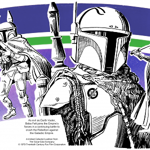 Boba Fett First Prototype Costume Artwork
