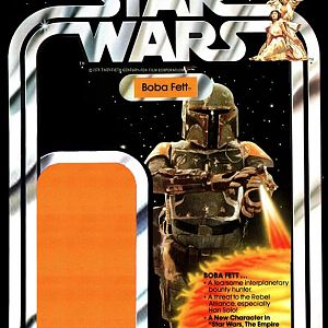 Boba Fett Second Prototype Costume Kenner