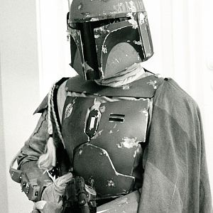 Boba Fett Empire Strikes Back Costume - Bespin Dinner