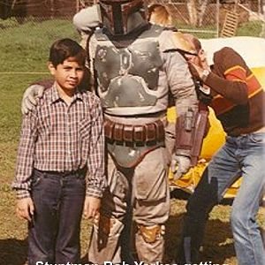 Boba Fett Return of the Jedi Costume - BTS