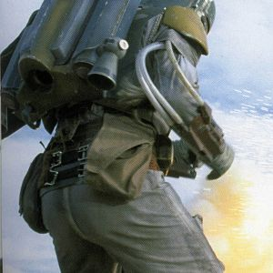 Boba Fett Return of the Jedi Costume - Skiff