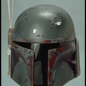 Boba Fett Return of the Jedi Stunt Helmet