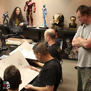 Legacy Effects meets to discuss As You Wish Project