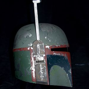 Right side view ROTJ painted helmet
