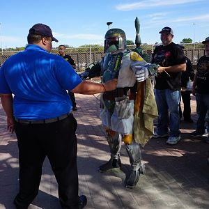 Fett At Security